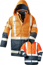 23431 fluoreszierend orange/marine
