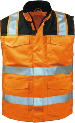 23519 MIRKO fluoreszierend orange/schwarz