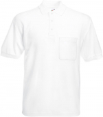 65/35 POCKET POLO weiß