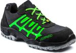 E0435 schwarz/neon-grün